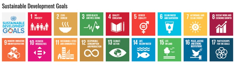 17 SDGs Sustainable Development Goals