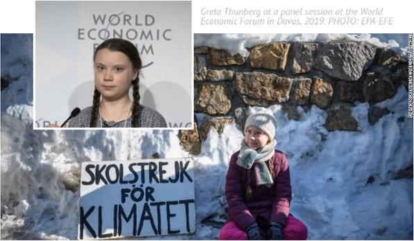 Teen Activist Tells Davos Elite, You're To Blame For Climate Crisis